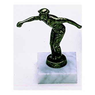 """Pétanque Trophy """"Pétanqueur"""" 12cm"""