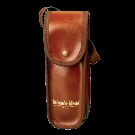Sacoche cuir brun
