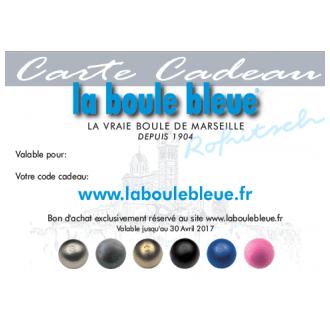 Carte Cadeau la boule bleue 25€
