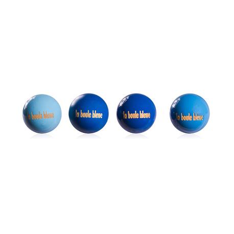 """Collector 4 buts """"la boule bleue"""""""